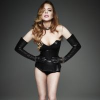 lindsay lohan homme style