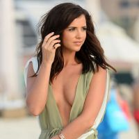 lucy mecklenburgh at a photoshoot in dubai