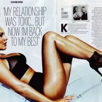kelly brook fabulous magazine