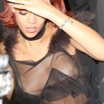 Rihanna – See-through at Met Gala after party