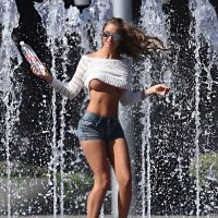 charlie riina 138 water photoshoot