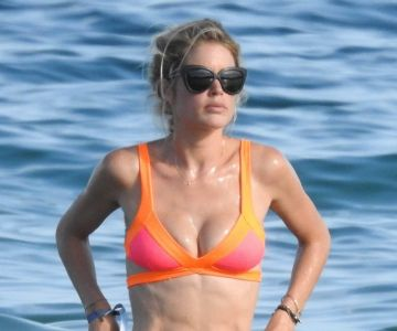 doutzen kroes in a bikini in ibiza