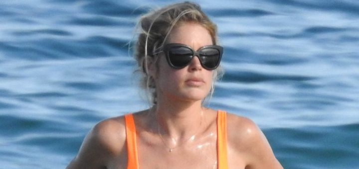 doutzen kroes in a bikini in ibiza