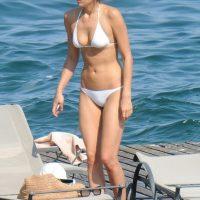 irina shayk in a bikini in italy