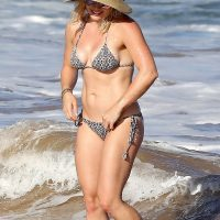 hilary duff in a bikini in hawaii