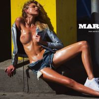 martha hunt lui magazine