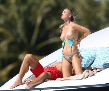 Joanna Krupa - topless in Miami