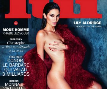 Lily Aldridge - Lui magazine ~ March 2016