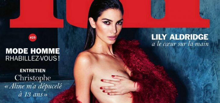 Lily Aldridge - Lui magazine ~ March 2016