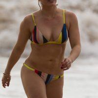 hilary duff in a bikini in maui