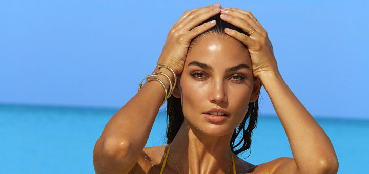 Lily Aldridge - Sports Illustrated Swimsuit Issue 2016