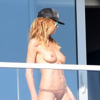 Heidi Klum - Topless in Miami