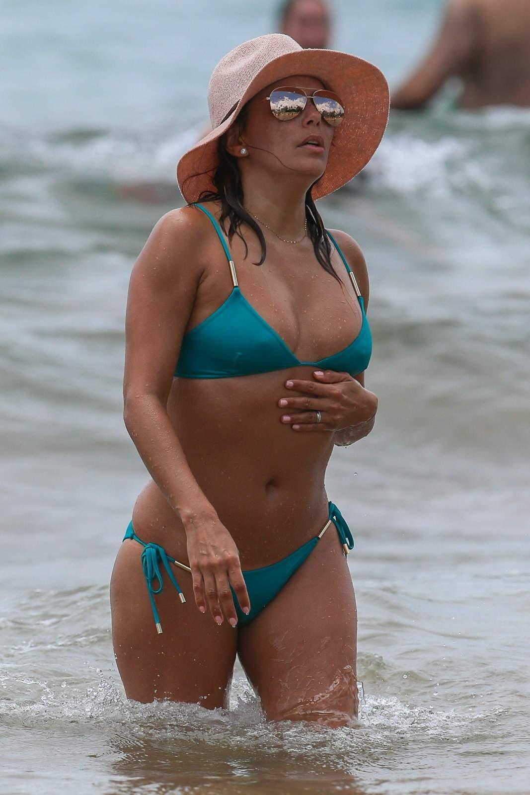 Eva Longoria - In a bikini (Miami)