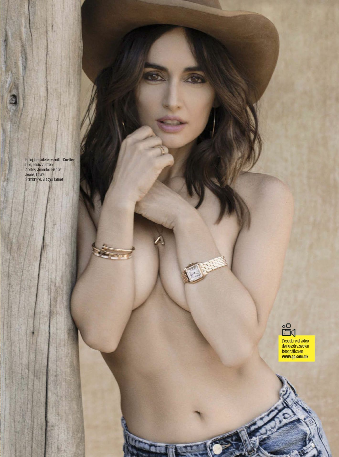 Ana de la Reguera - GQ Mexico (May 2017)