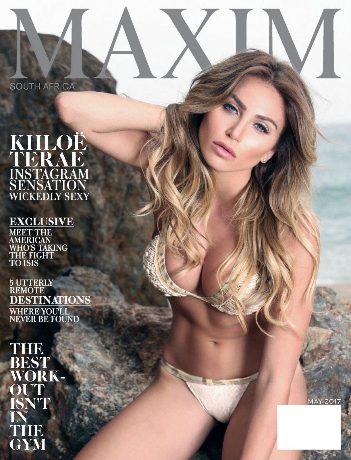 Khloe Terae - Maxim South Africa (May 2017)