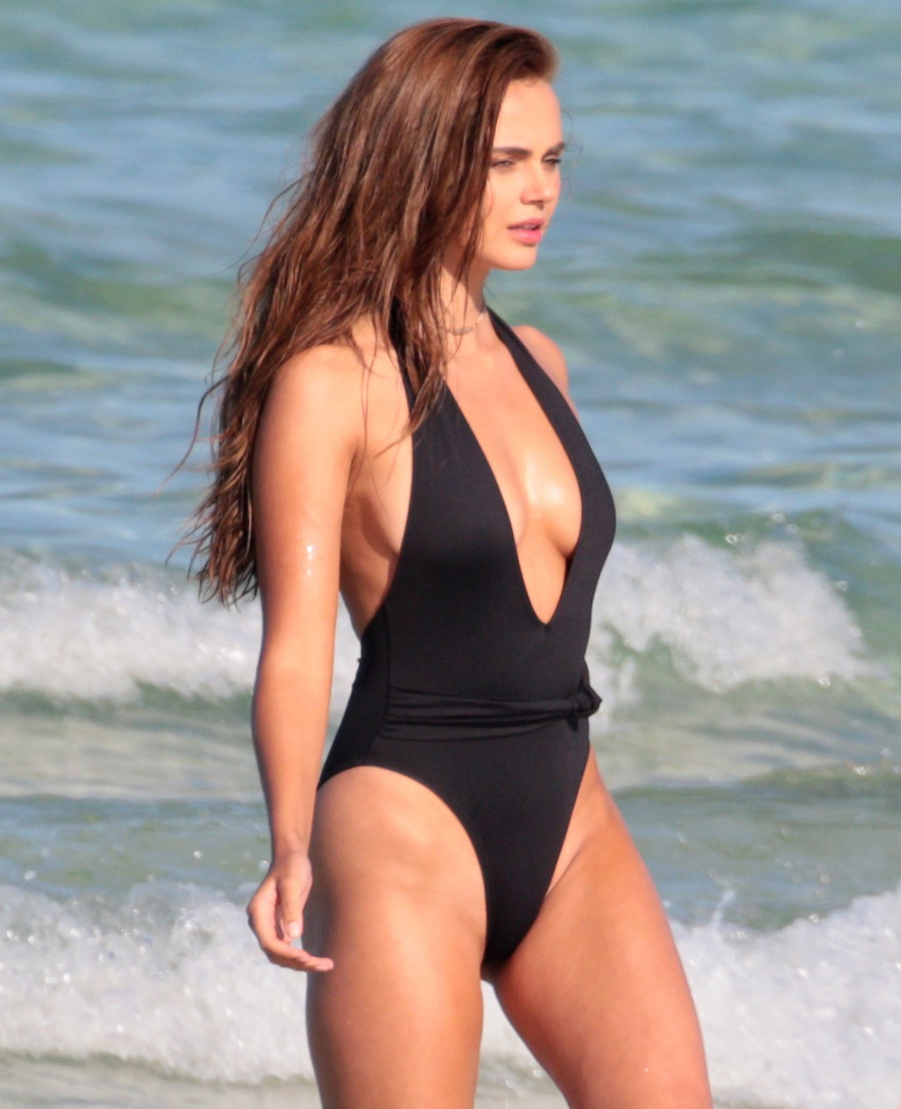 Xenia Deli - Swimsuit photoshoot (Miami)