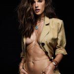 Alessandra Ambrosio – Jacquie Aiche Jewelry (2017)