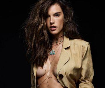 Alessandra Ambrosio - Jacquie Aiche Jewelry (2017)