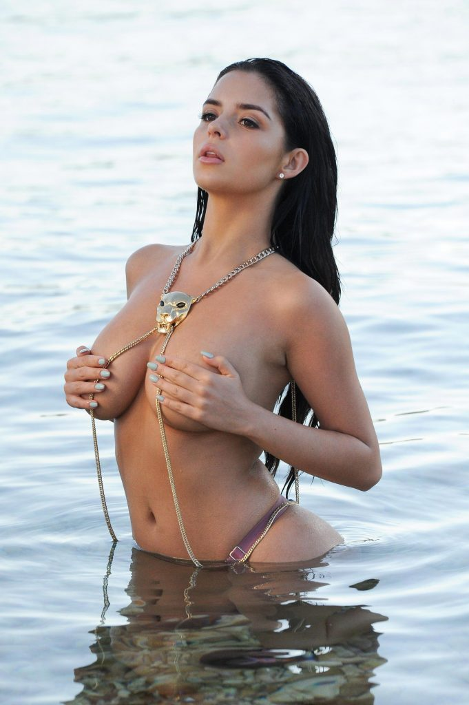 Demi Rose Mawby - Topless photoshoot