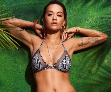 Rita Ora - Tezenis Beachwear (2017)