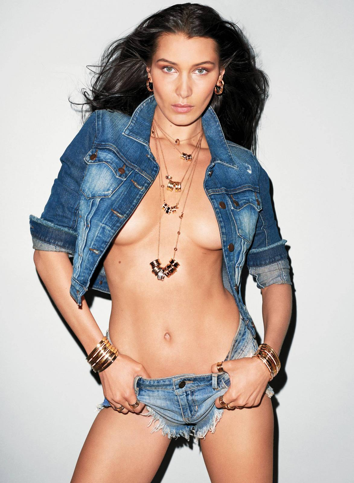 Bella Hadid - V Magazine (July 2017)
