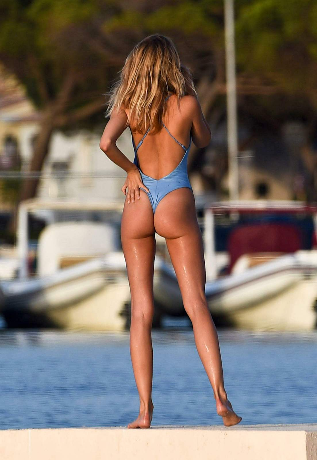 Kimberley Garner - In a swimsuit (St Tropez)