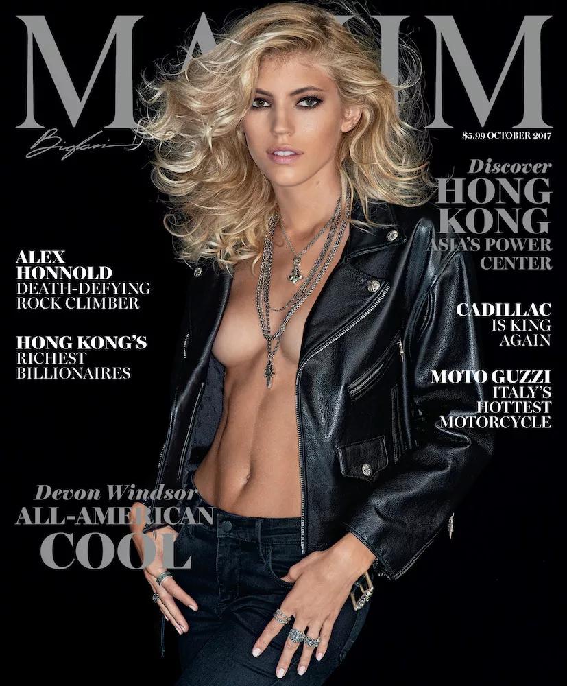 Devon Windsor - Maxim (October 2017)