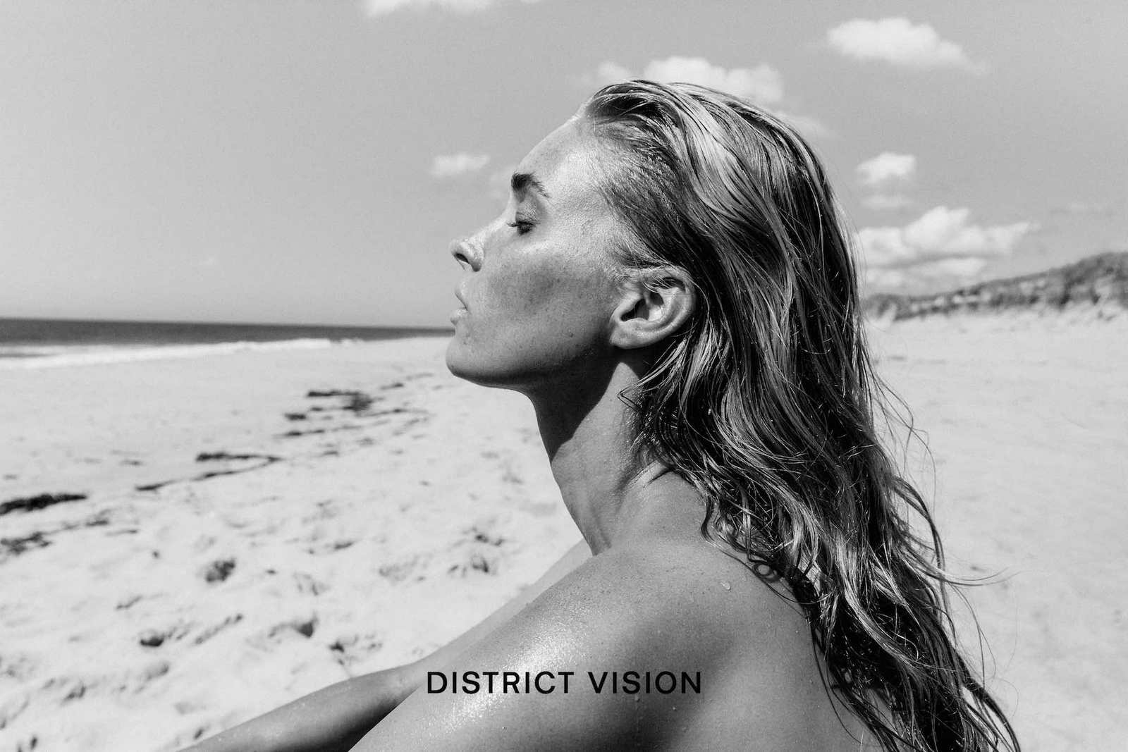 Elsa Hosk by - District Vision photoshoot