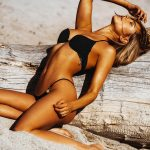 Kimberley Garner – Bikini photoshoot (Ibiza)