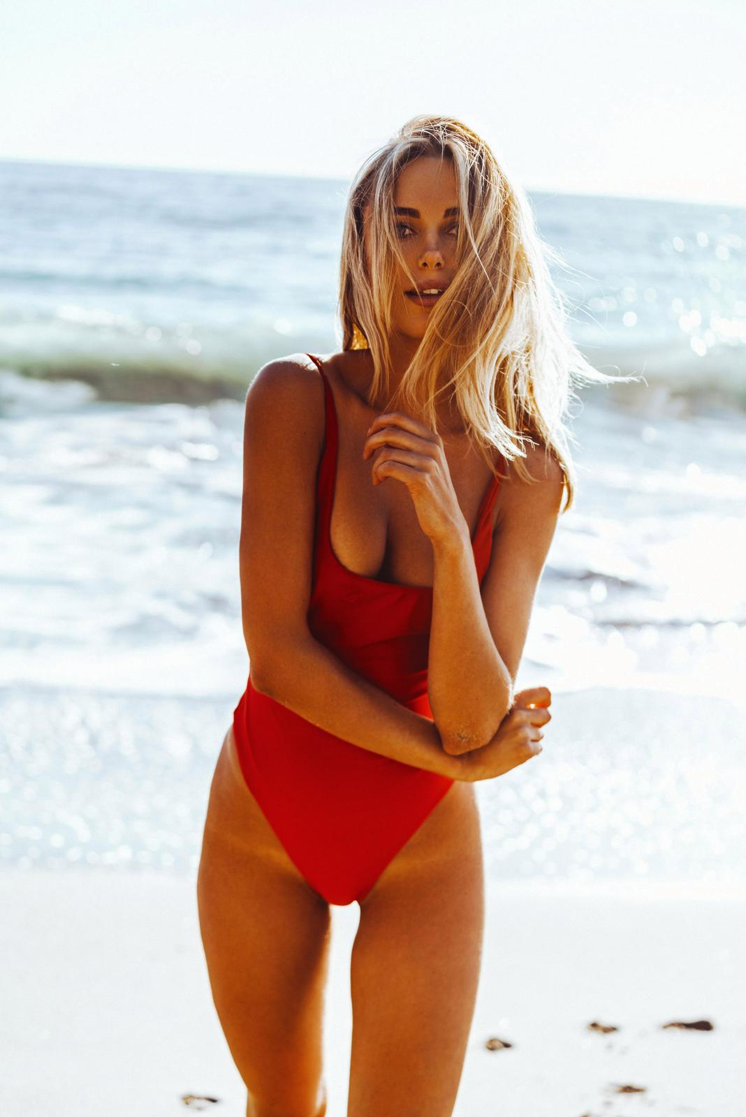 Kimberley Garner - Swimsuit photoshoot (Ibiza)