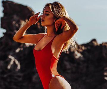 Kimberley Garner - Swimsuit photoshoot (Ibiza)