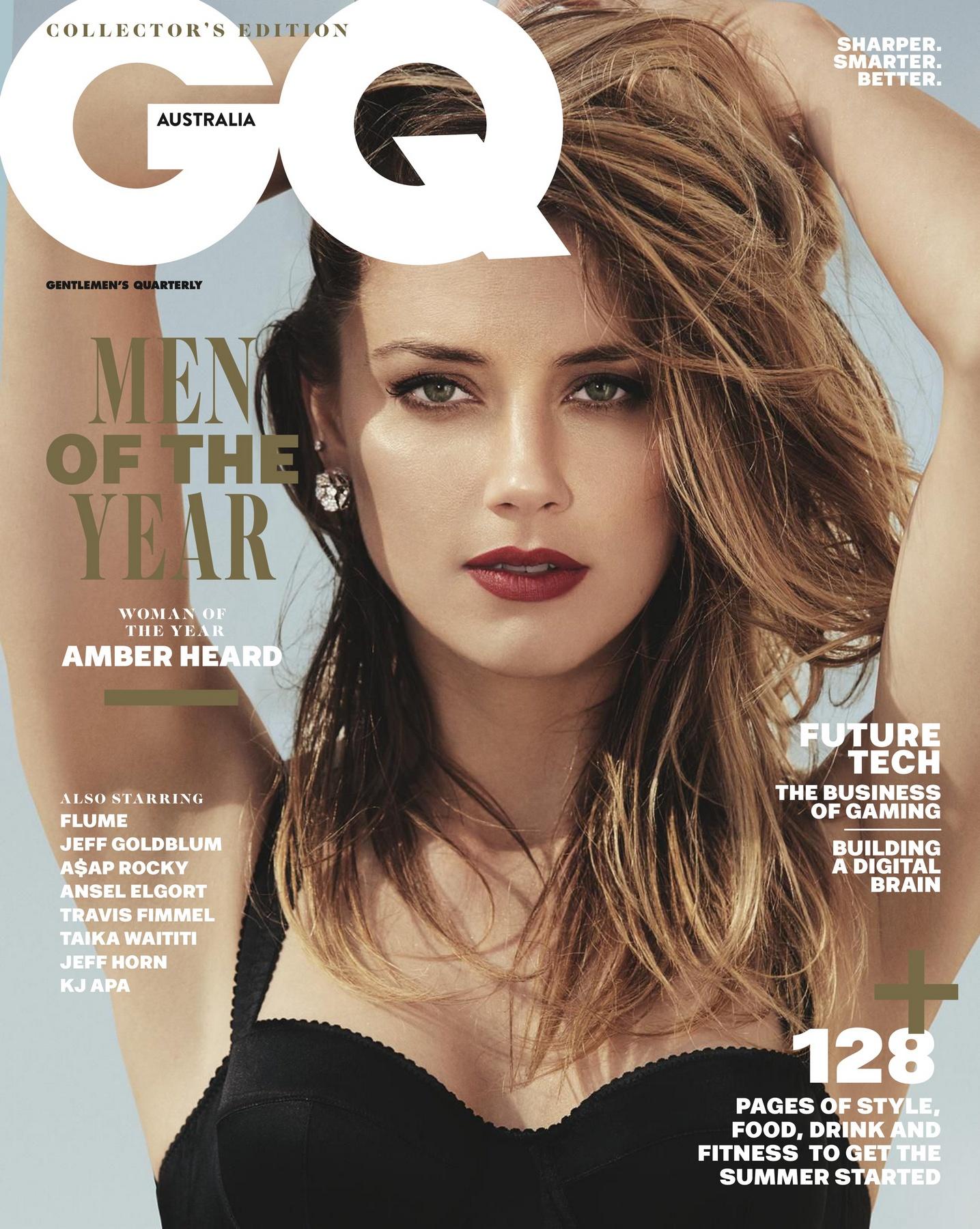 Amber Heard - GQ Australia (December 2017)