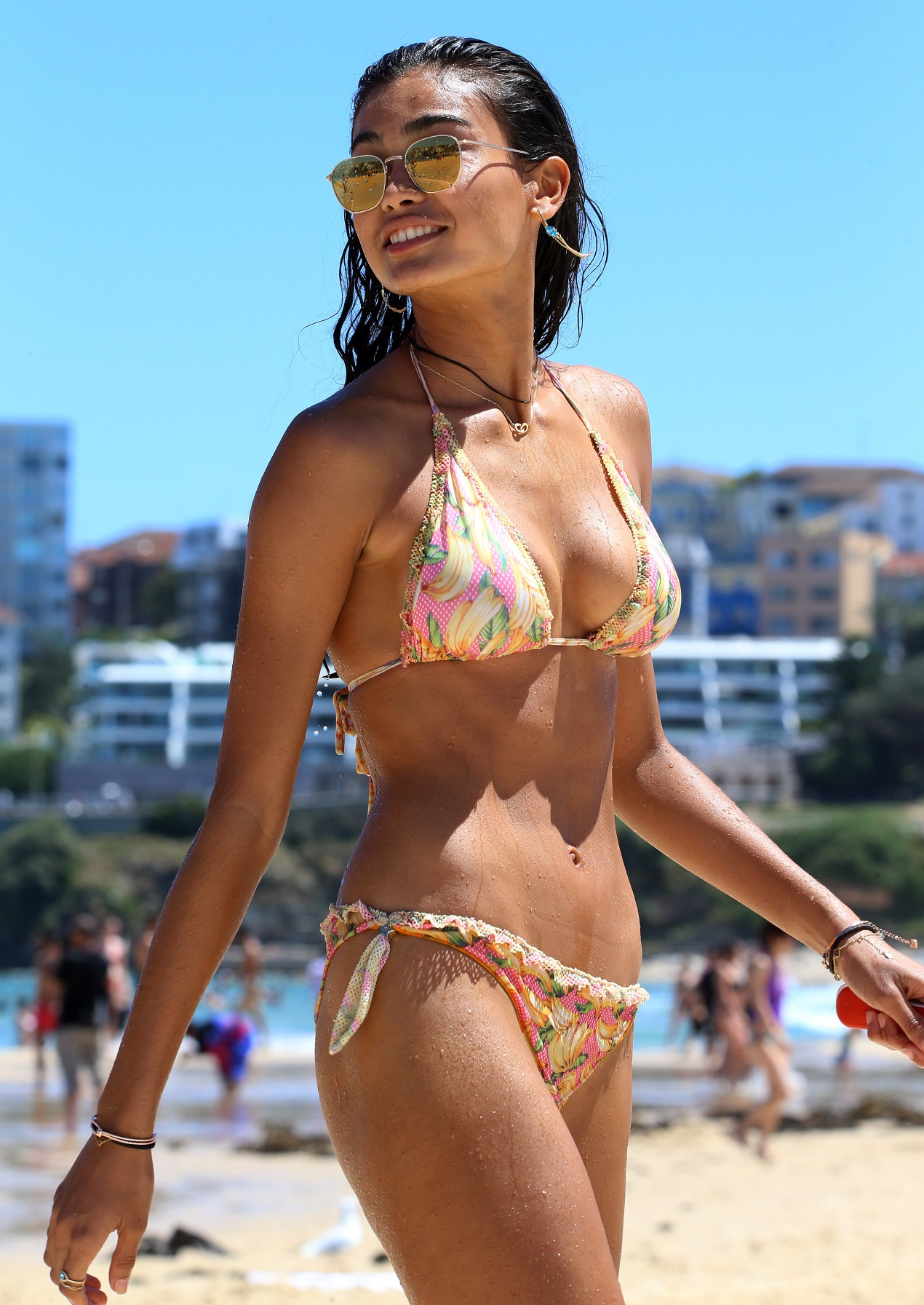 Kelly Gale - In a bikini (Sydney)