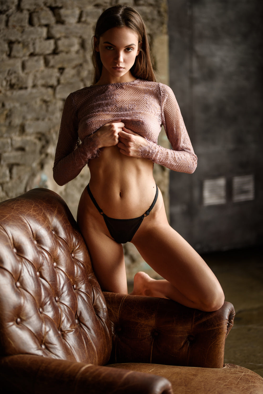 Maria Demina - Sacha Leyendecker photoshoot