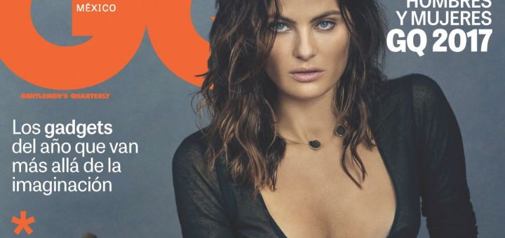 Isabeli Fontana - GQ Mexico (December 2017/January 2018)