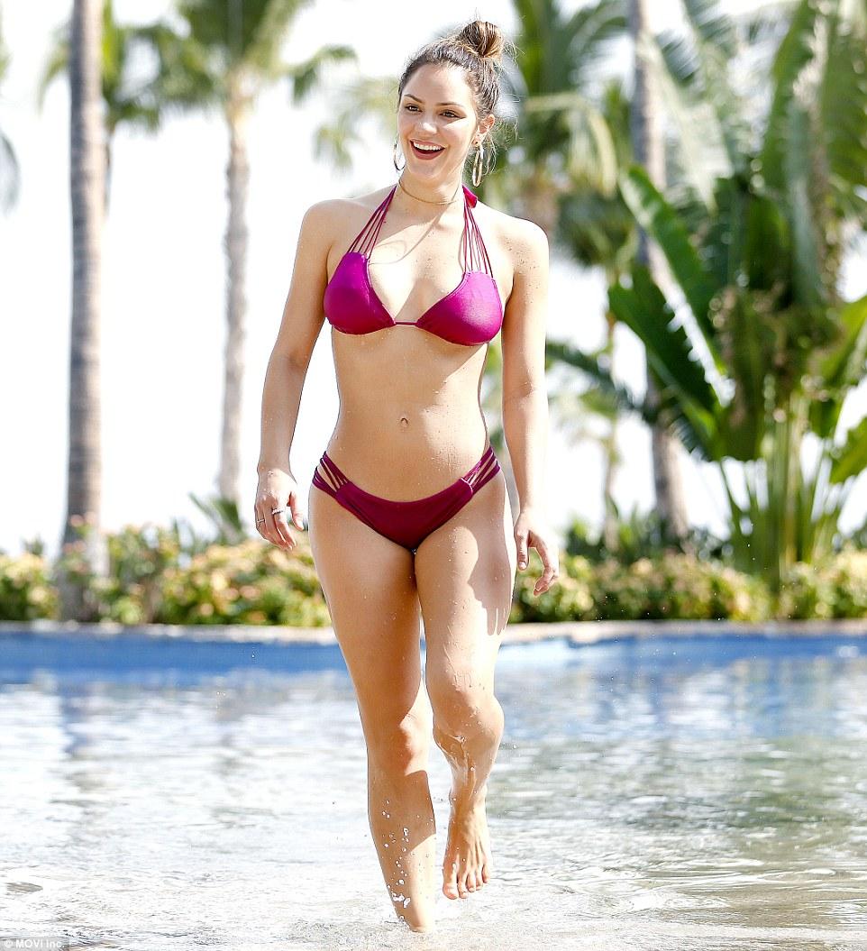 Katharine McPhee - In a bikini (Mexico)