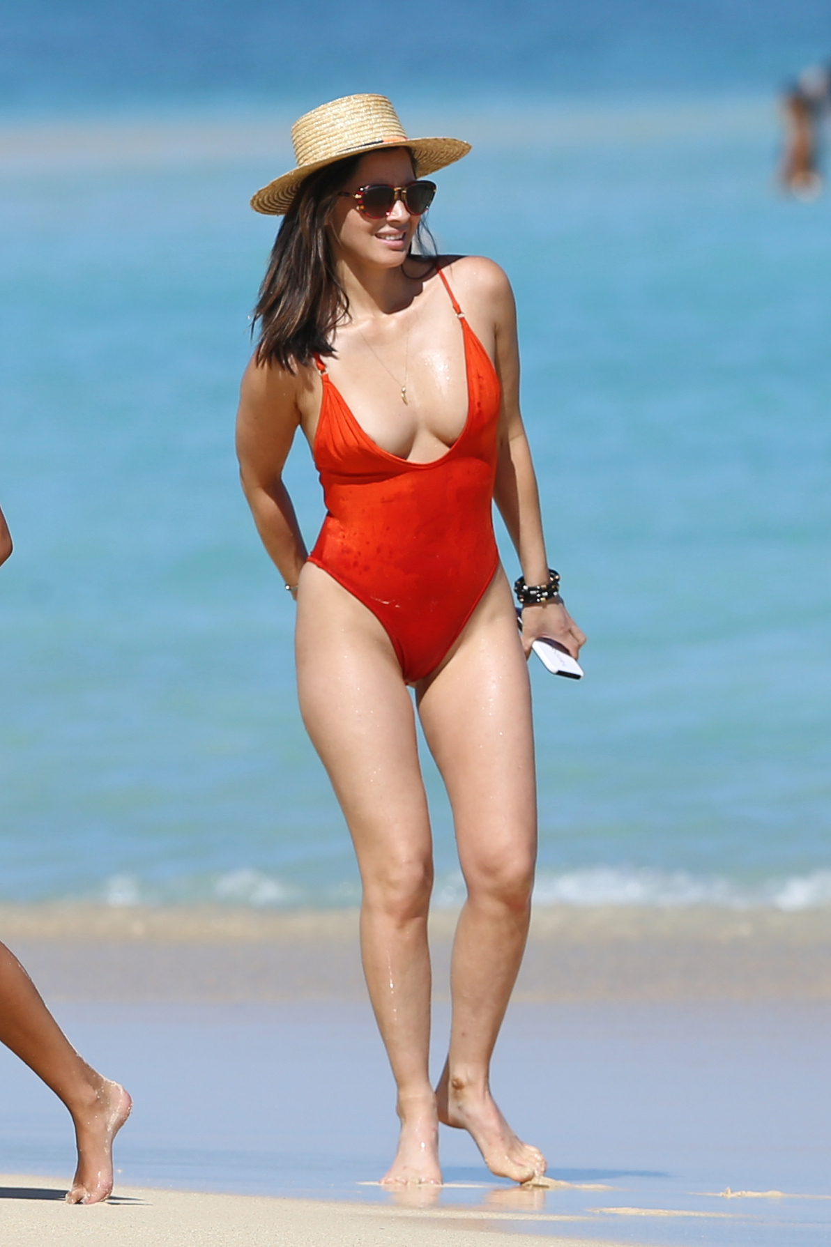 Olivia Munn - In a Swimsuit (Hawaii)