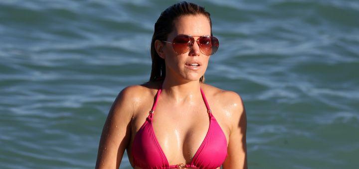 Sylvie Meis - In a bikini (Miami)
