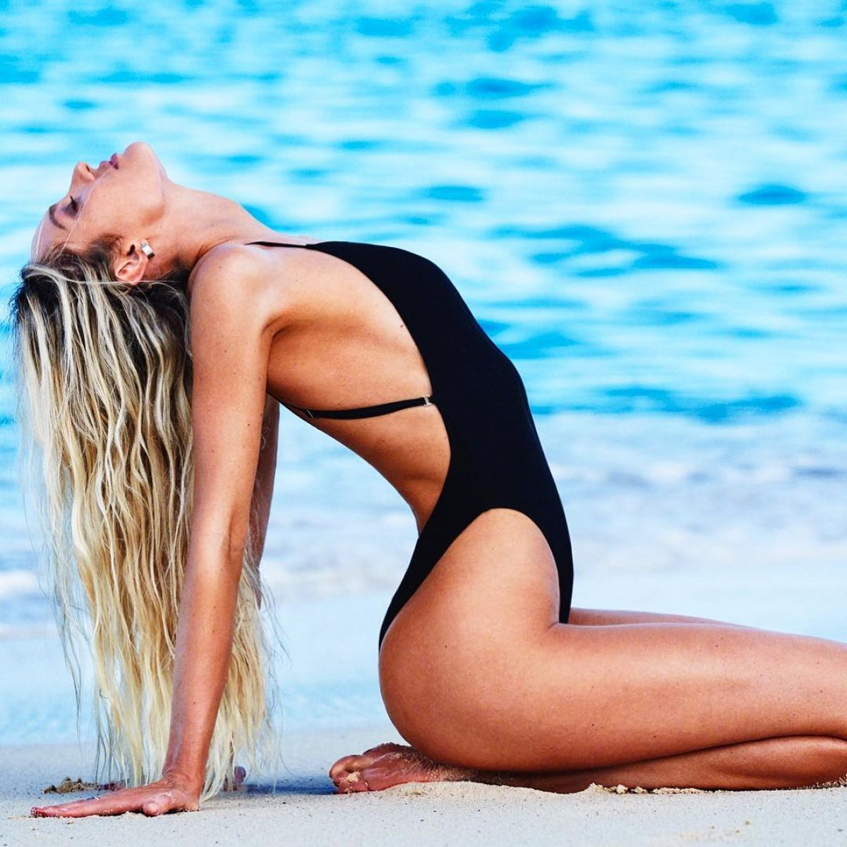 Candice Swanepoel - Tropic of C swimwear collection