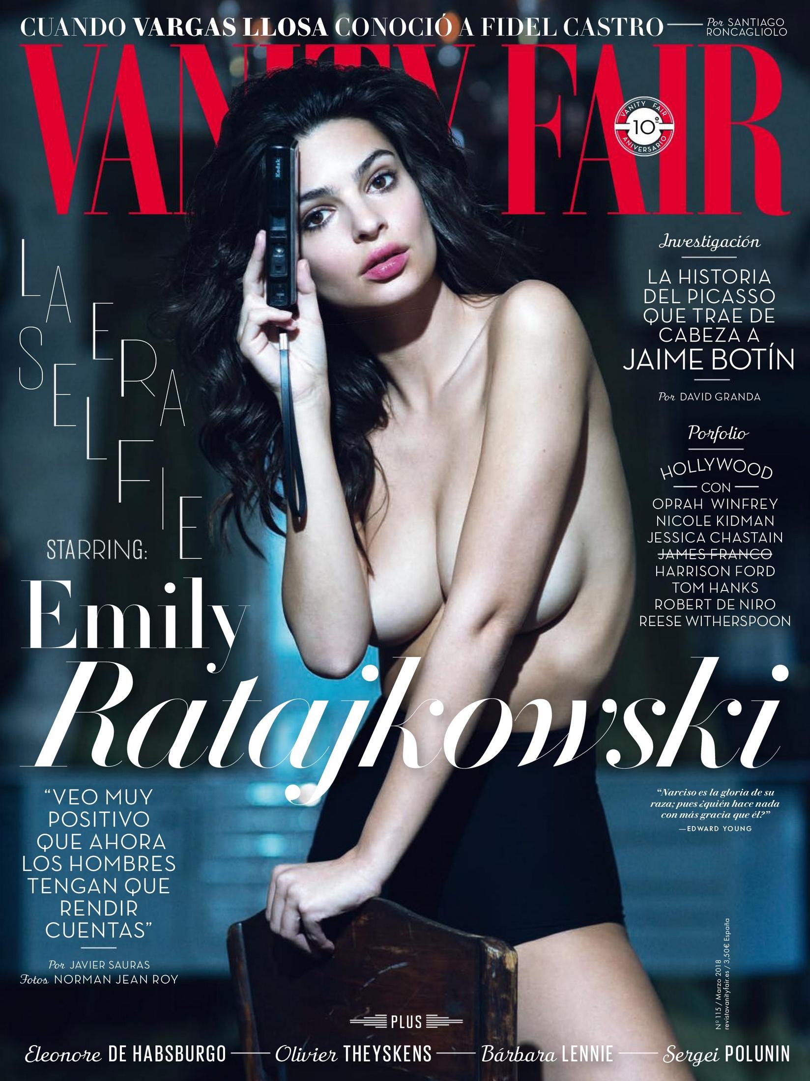 Emily Ratajkowski Vanity Fair Spain (March 2018)