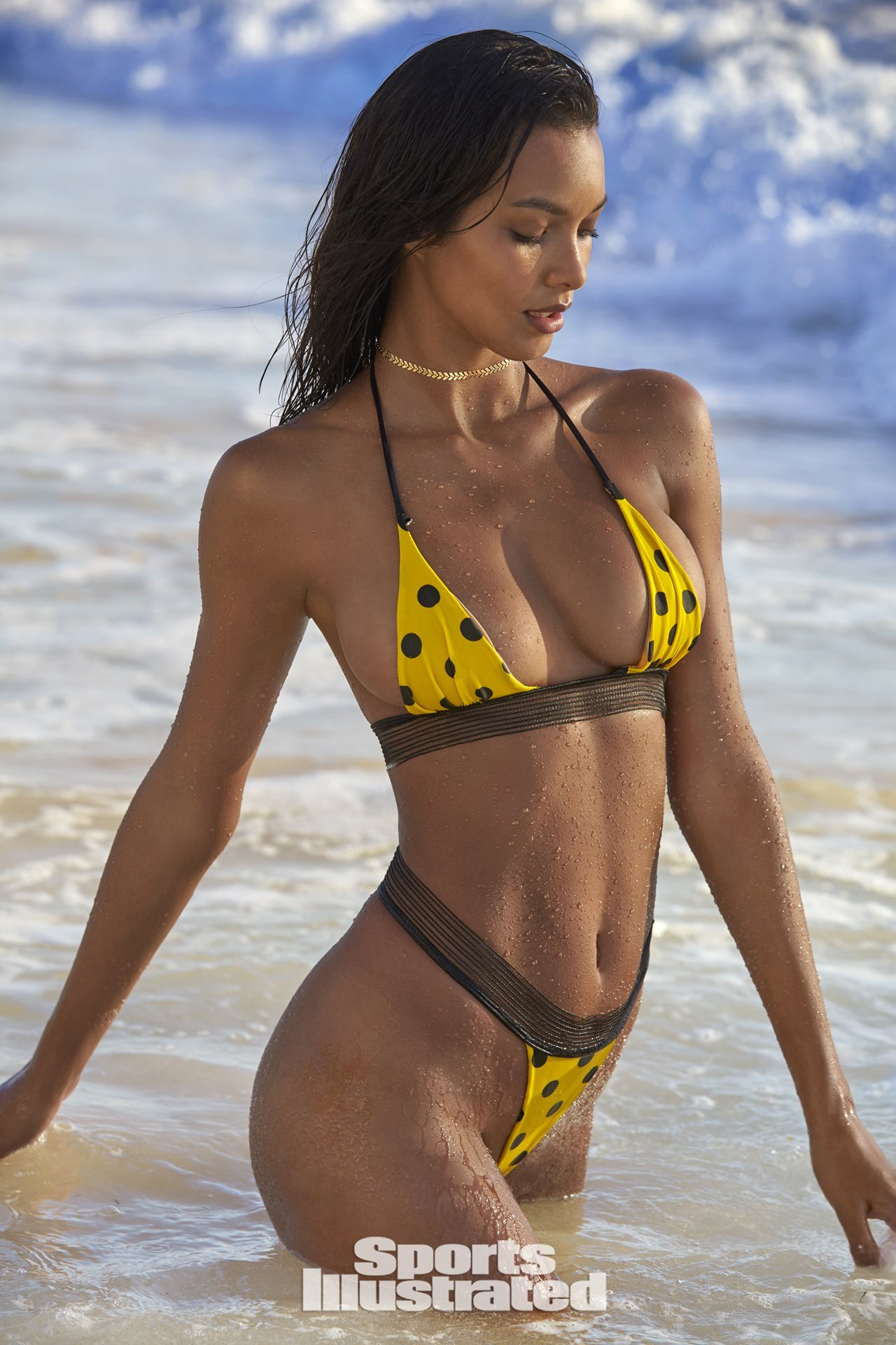 Lais Ribeiro - Sports Illustrated Swimsuit Issue 2018