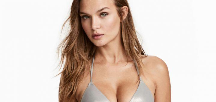 Josephine Skriver - H&M Swimwear (February 2018)
