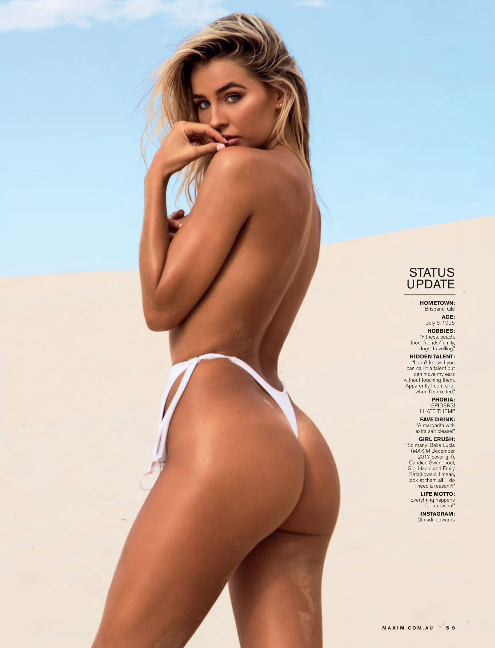 Madison Edwards - Maxim (Australia) - March 2018