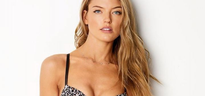 Martha Hunt - Victoria's Secret photoshoot (March 2018)