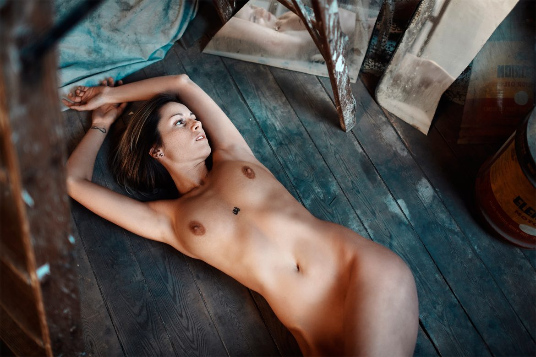 Tiziana Carletta - Romain Borremans photoshoot