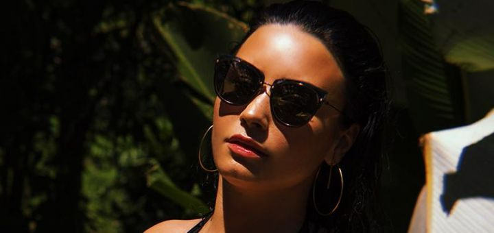 Demi Lovato - DIFF Eyewear photoshoot (2018)