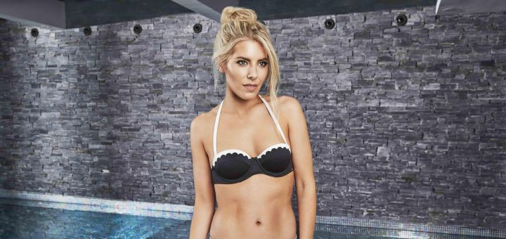 Mollie King - Boux Avenue Swimwear (April 2018)