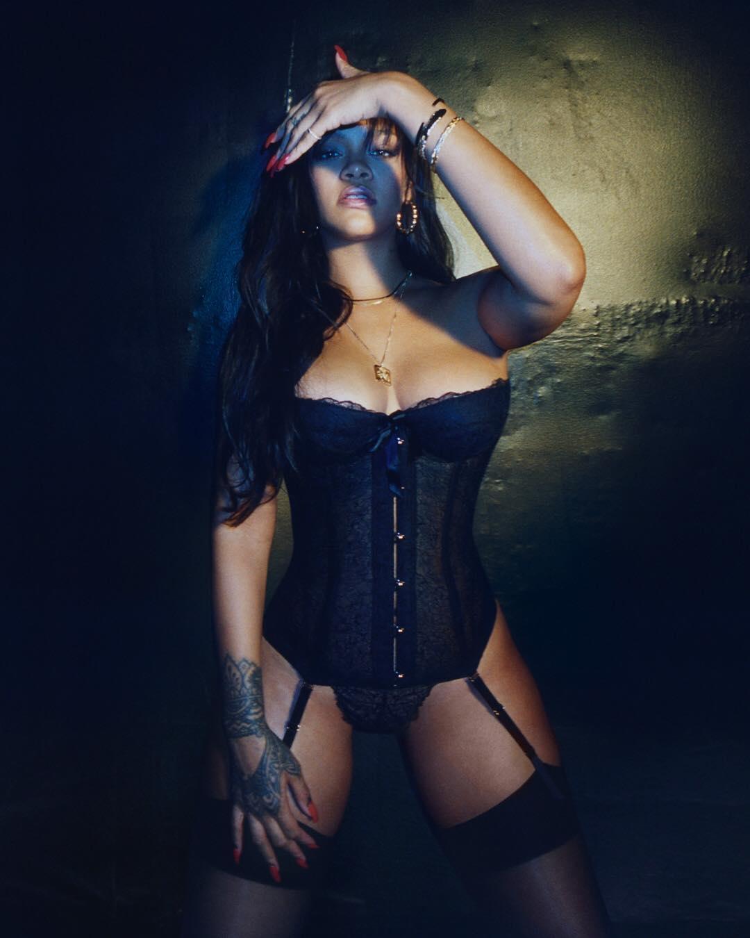 Rihanna - Savage X Fenty photoshoot