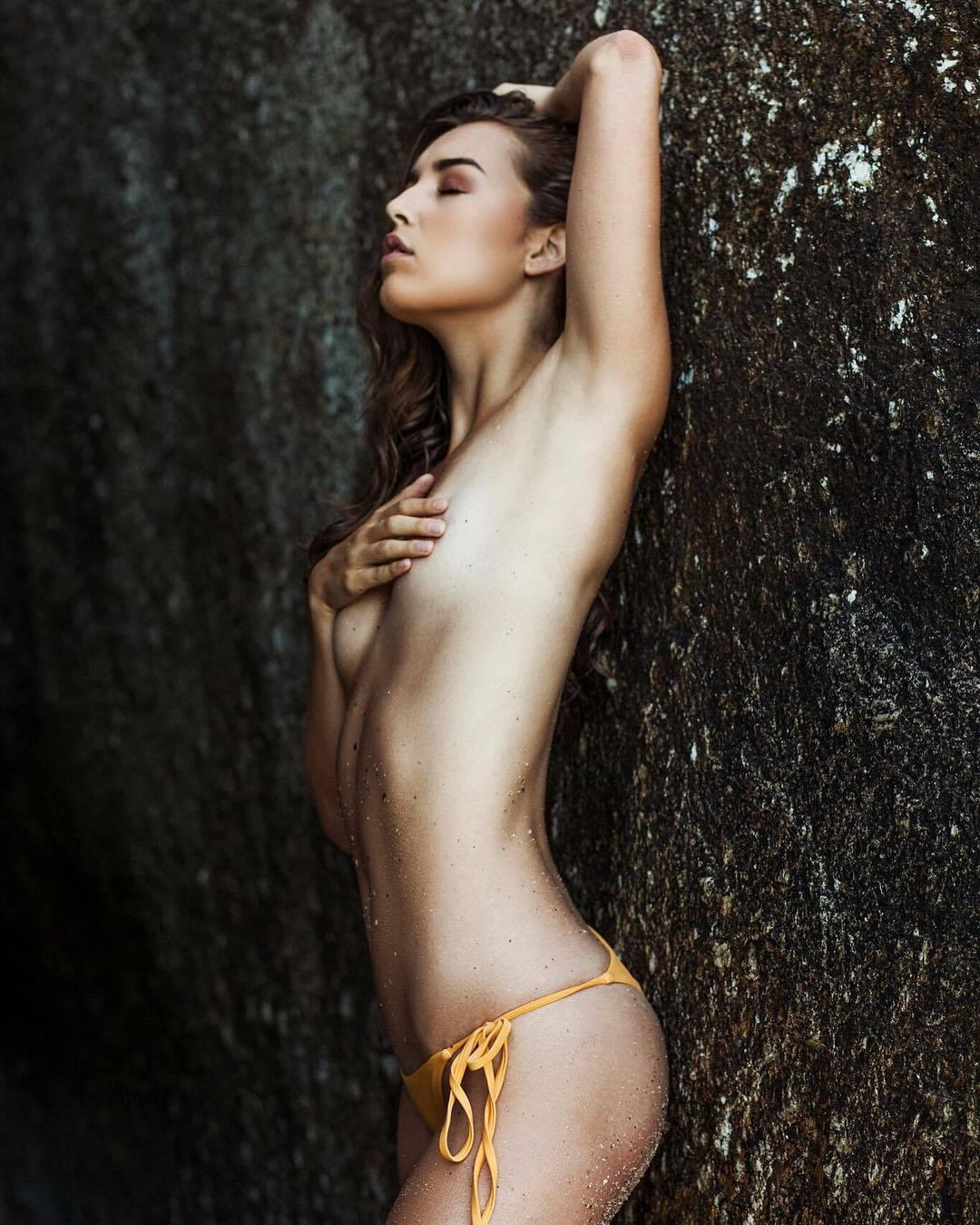 Taylor Bryant - Garreth Barclay photoshoot