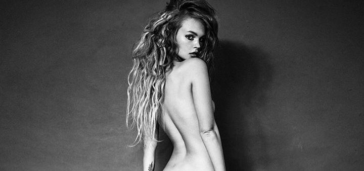 Anastasiya Scheglova - Nika Baeva photoshoot